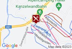 Almhof Rupp - Karte