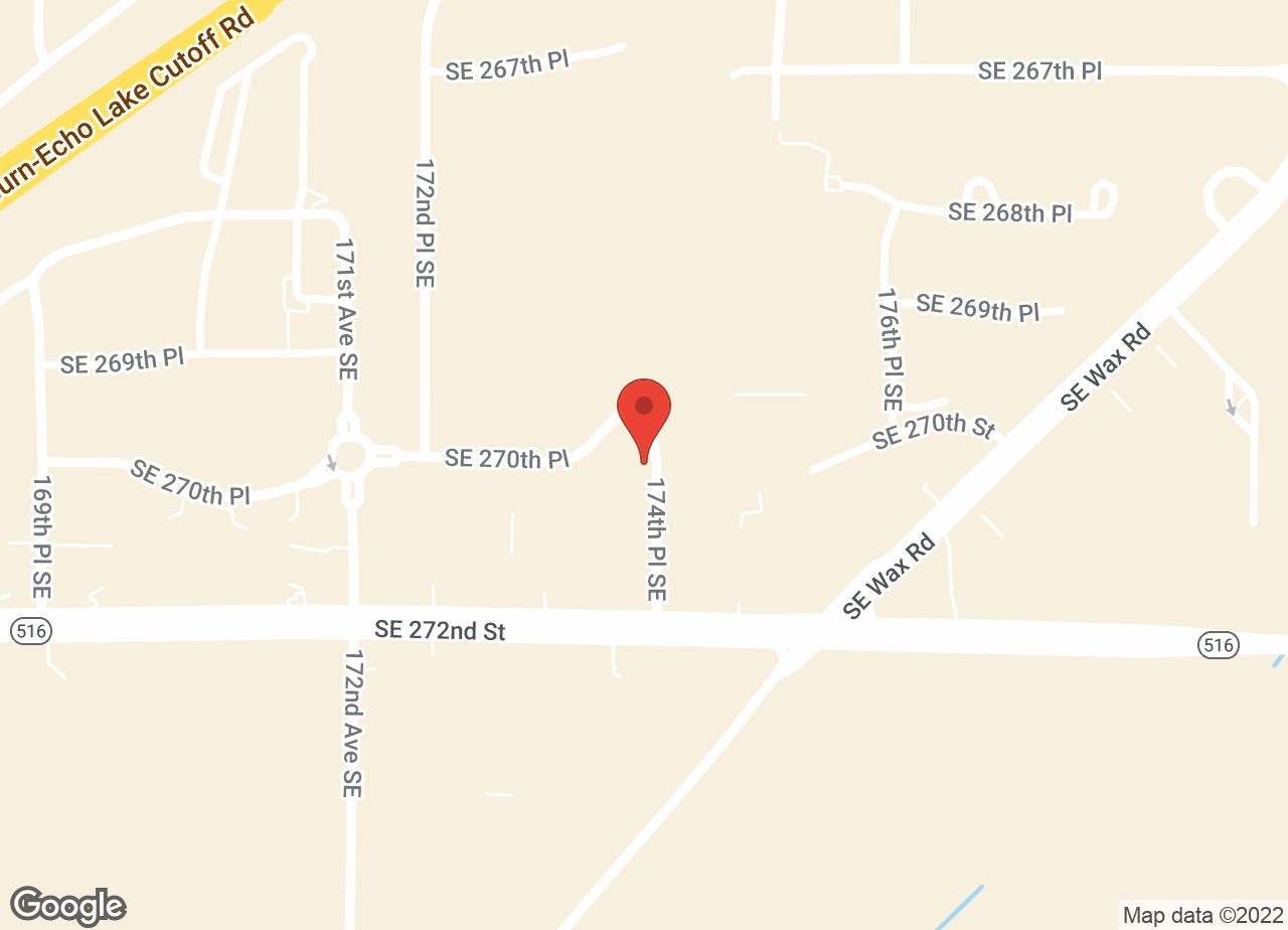 Google Map of VCA Covington Animal Hospital