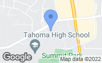 Map of Maple Valley, WA