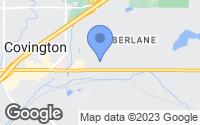 Map of Covington, WA