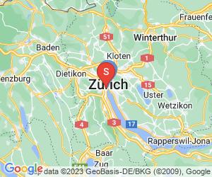 Karte für Alden Suite Splügenschloss Zurich