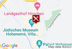 Gasthof - Pension Hirschen - Karte