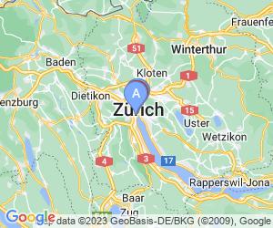 Karte für Park Hyatt Zurich