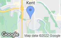 Map of Kent, WA