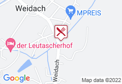 Weidachstube - Karte