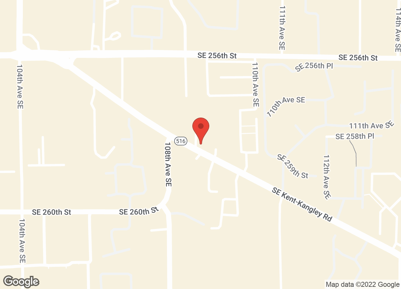 Google Map of VCA Kent Animal Hospital