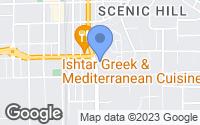 Map of Kent, WA