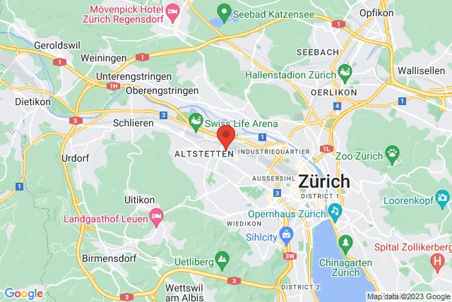 City Pilates Map