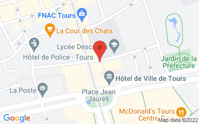 3 Rue des Minimes, 37000 Tours, France