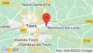 Carte de localisation du centre de contrôle technique La Ville aux Dames