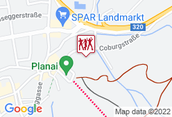 Tenne Schladming - Hohenhaus - SNÄCK PLANAI - Karte