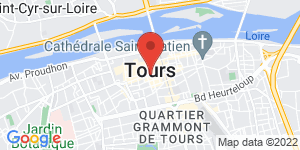 Carte de DEVERNOIS TOURS