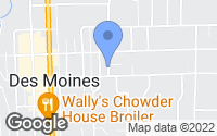 Map of Des Moines, WA