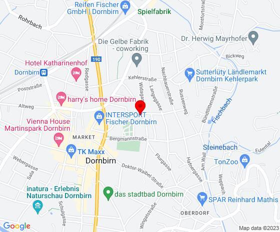 Google Map of Frühlingsstraße 11, 6850 Dornbirn