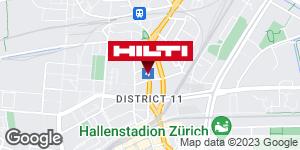 Get directions to Hilti Store Zürich Oerlikon