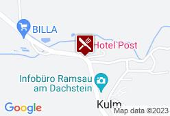 Waldschenke Ramsau am Dachstein - Karte