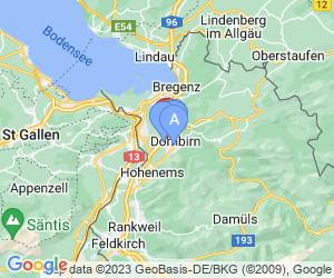 Karte für Olympiazentrum Vorarlberg