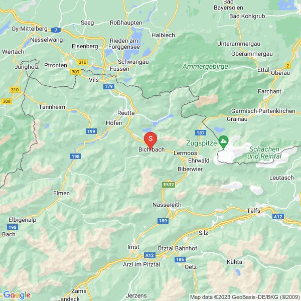Kletterwald mit Freizeitpark Bichlbach