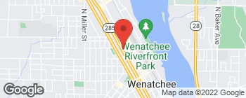 Map of 235 N Mission St in Wenatchee