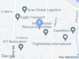 Map of AirPet Hotel Dog Boarding options in Seattle | Boarding