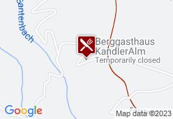 Kandleralm - Karte