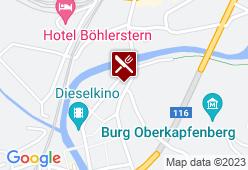 Gasthaus zum Roseggerbrunnen - Karte