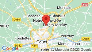 Carte de localisation du centre de contrôle technique NOTRE DAME D'OE