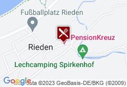 Gasthof Kreuz - Karte