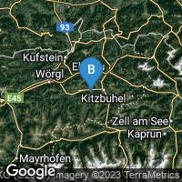 Lagekarte von Kirchberg in Tirol