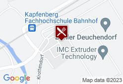 MENSA & M-CAFE - FH JOANNEUM KAPFENBERG - Karte