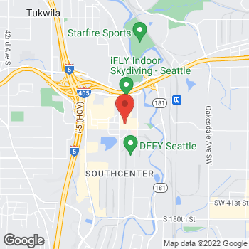 Map of Guitar Center Lessons at 230 Andover Park W, Tukwila, WA 98188