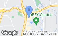 Map of Tukwila, WA