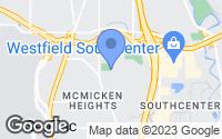 Map of Tukwila, WA