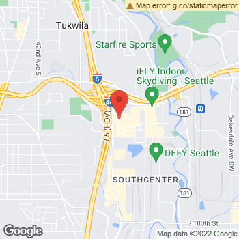 Map of Sears Optical at 301 Southcenter Mall, Tukwila, WA 98188