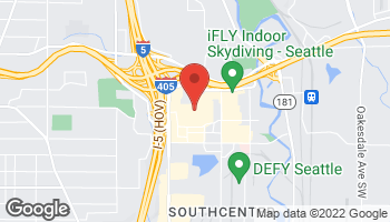 Map of 2800 Southcenter Mall in Seattle