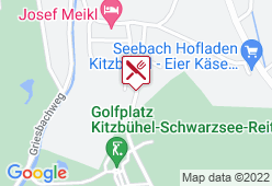 Golfplatz Kitzbühel-Schwarzsee-Reith - Karte