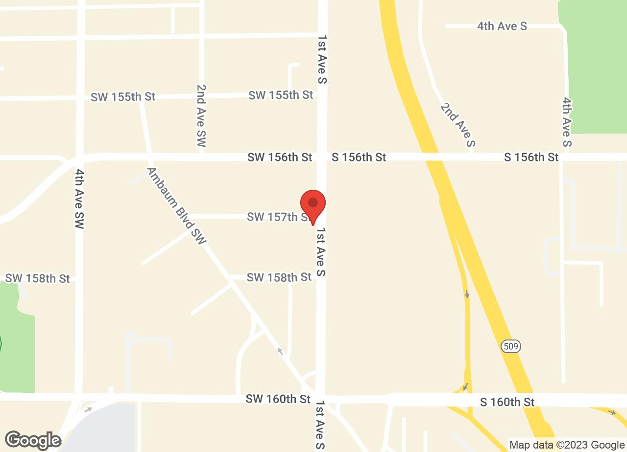 Google Map of VCA Five Corners Animal Hospital