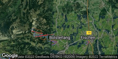 Google Map of Bolsterlang