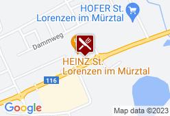 Hooters Kapfenberg (St. Lorenzen) - Karte