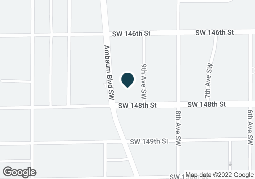 Google Map of14656 AMBAUM BLVD SW