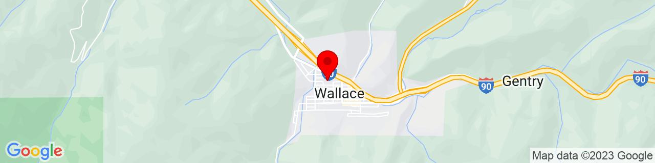 Google Map of 47.4740945, -115.9279387