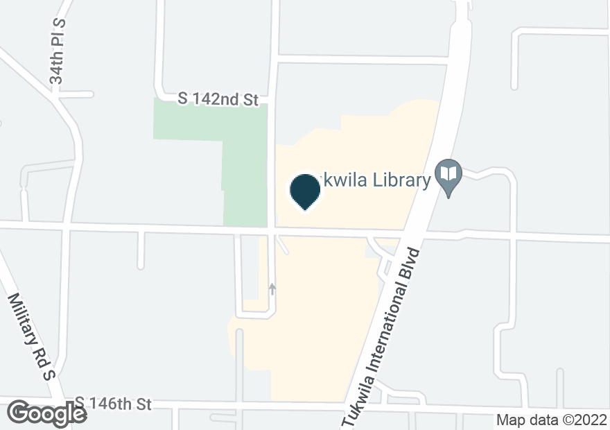 Google Map of3716 S 144TH ST