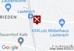 Gasthaus Bahnhof - Karte