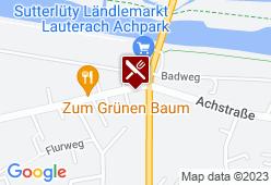 Gästehaus Brugger - Karte