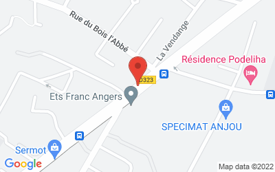 Route de Paris, Angers, France