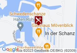 Gasthaus Mövenblick - Karte