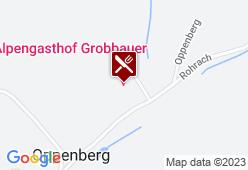 Alpengasthof Grobbauer - Karte