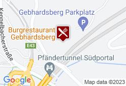 Burgrestaurant Gebhardsberg - Karte