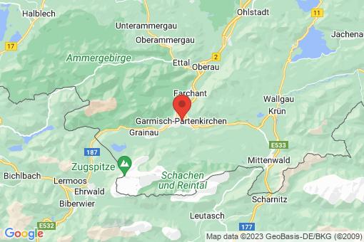 Karte Garmisch-Partenkirchen