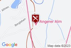 Angereralm - Karte